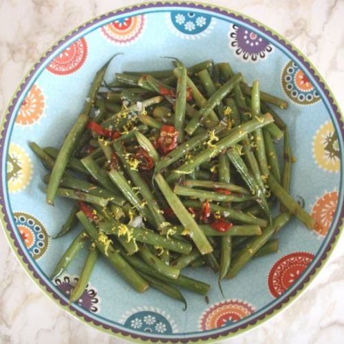 Spicy French Beans with Chilli