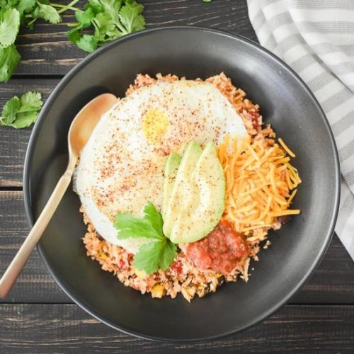 Cauliflower Fiesta Rice Breakfast