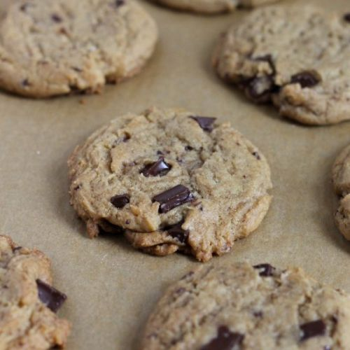 Fancier Chocolate Chip Cookies