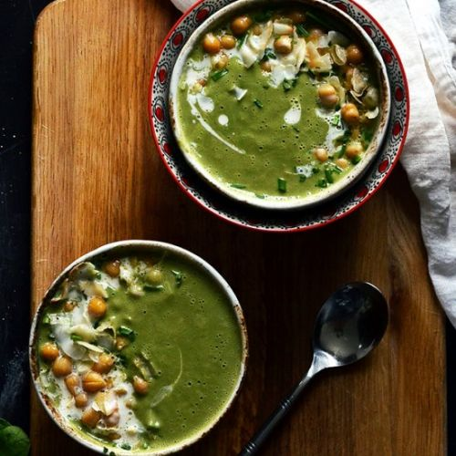 Coconut Supergreen & Spirulina Soup