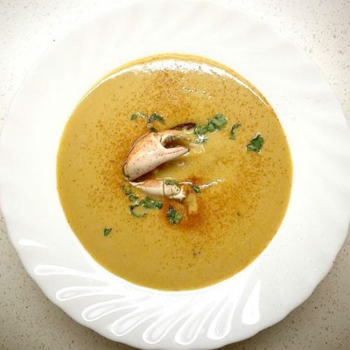 Crab & Whisky Bisque