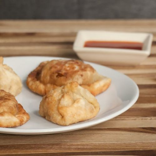 Fried Tibetan Momo Dumplings