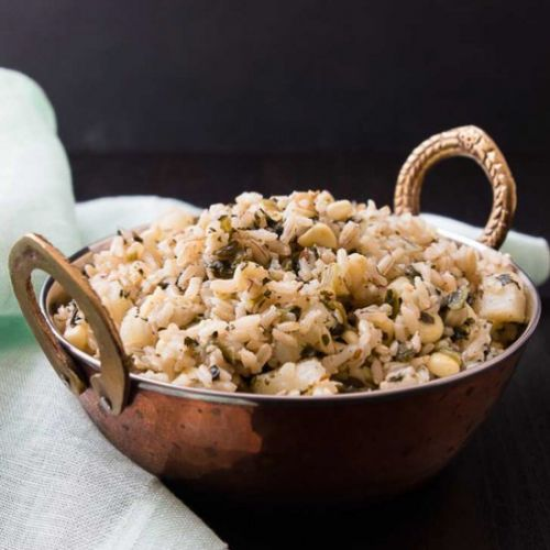 Quick Indian Brown Rice Pulau