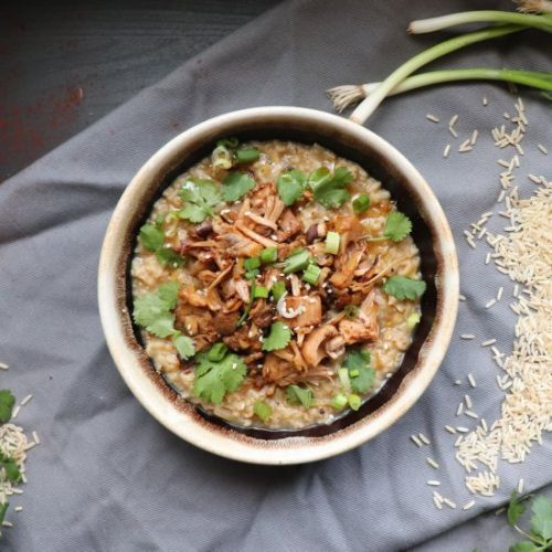 Vegan Brown Rice Congee