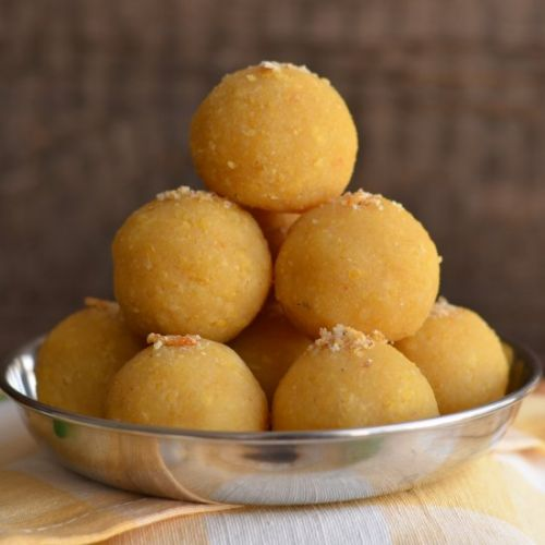 Yellow Moong Dal Laddu