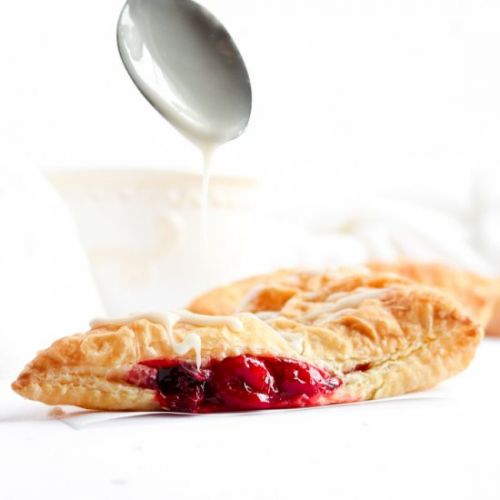 2-Ingredient Cherry Turnovers