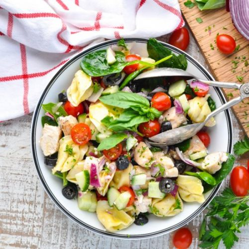 Chicken and Tortellini Salad