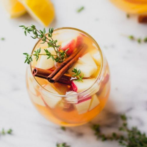 Easy Apple Cider Sangria