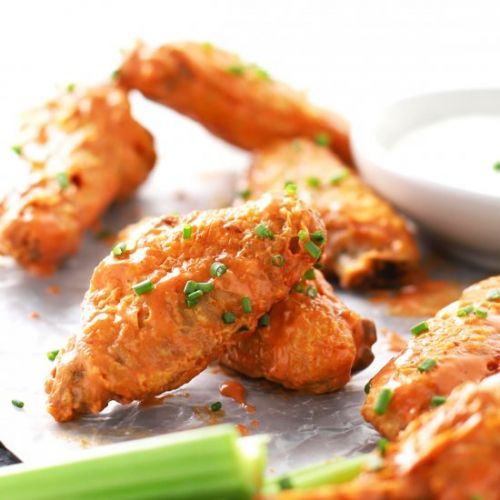 Healthy Air Fryer Buffalo Wings