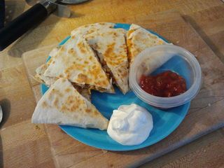 Quick, Easy and Delicious, Quesadillas