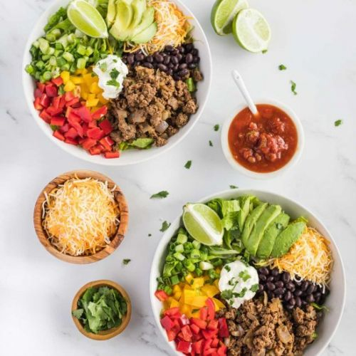Easy Low-Carb Burrito Bowls