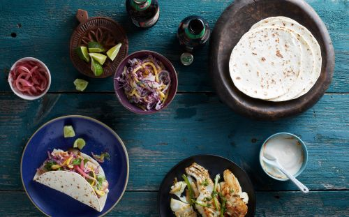 These Are the Absolute Easiest Weeknight Fish Tacos