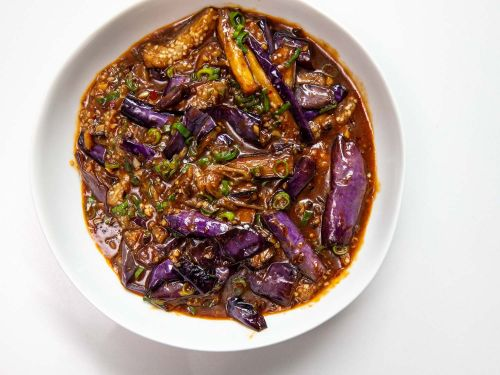 Fish-Fragrant Eggplants (Sichuan Braised Eggplant With Garlic, Ginger, and Chilies)