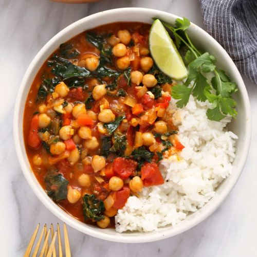 One Pot Chickpea Curry
