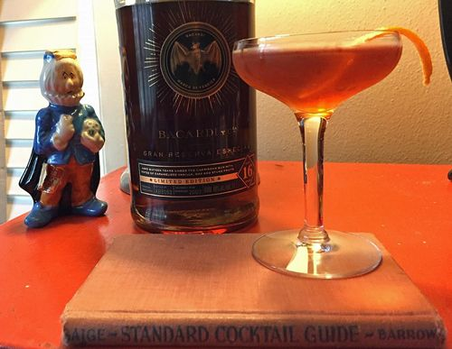 What I'm Drinking: The Frank Morgan with Bacardi Gran Reserva Especial DarkRum