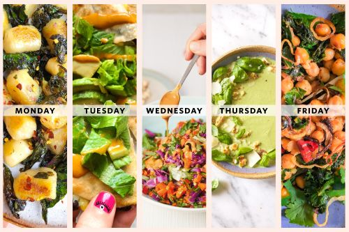 Next Week's Meal Plan: 5 Cheap and Healthy Vegetarian Dinners for Two
