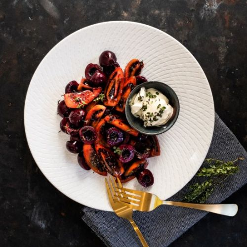 Cherry Tamarillo Salad