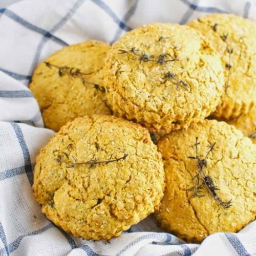 Butternut & Thyme Biscuits