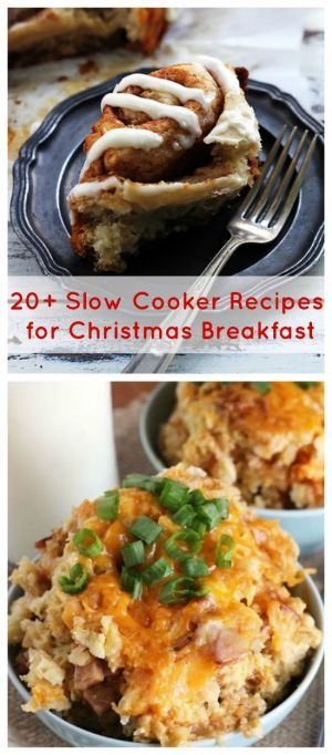 20+ Slow Cooker Recipes for Christmas Breakfast