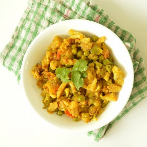 Healthy Mixed Vegetable Curry
