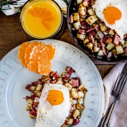 Restaurant Style Corned Beef Hash