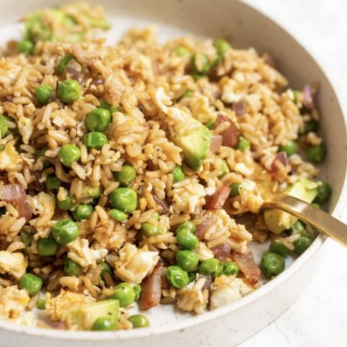 Avocado Breakfast Fried Rice
