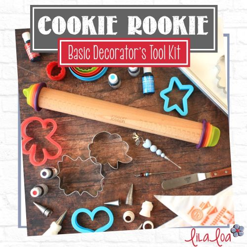 A Beginner's Cookie Decorating Tool Kit