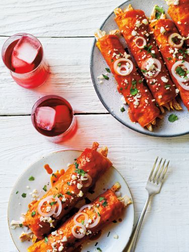 Red Chile Enchiladas