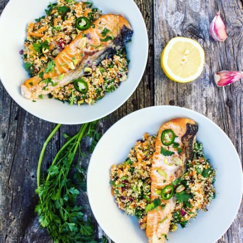 Salmon-Quinoa-Bowl