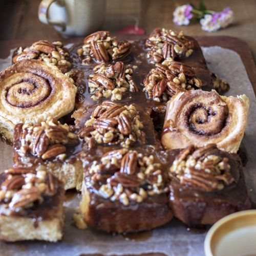 Overnight Pecan Sticky Buns