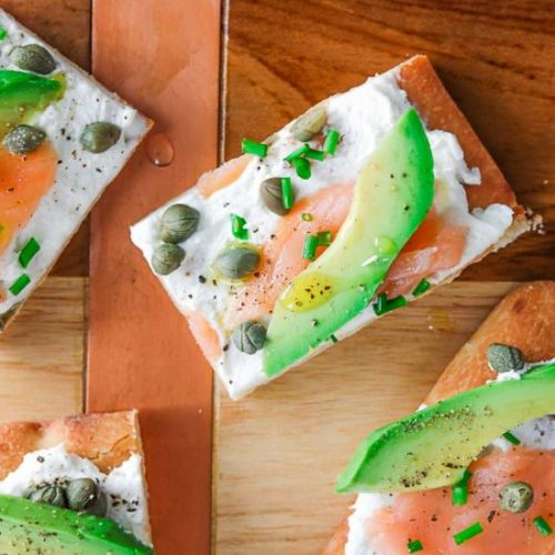 Avocado & Smoked Salmon Appetizer