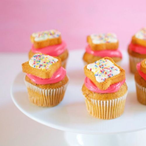 Fairy Bread Cupcake Toppers