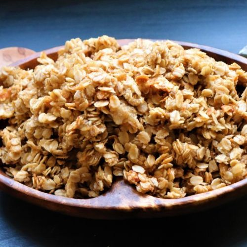 4 Ingredient Easy Banana Granola