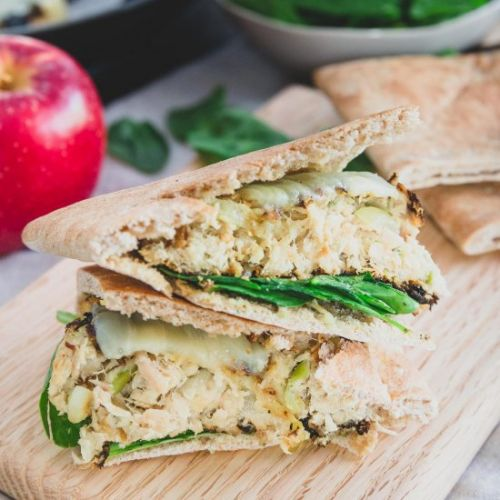 Apple Cheddar Tuna Patties