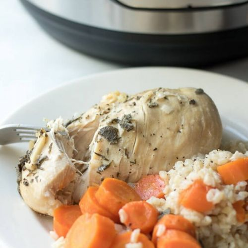 Instant Pot Chicken Rice Dinner
