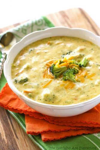 Panera's Broccoli Cheddar Soup