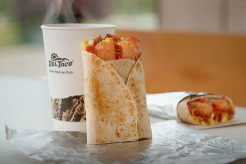 Del Taco Expands Morning Offerings With New Breakfast Toasted Wrap