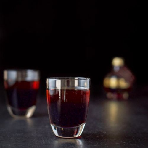 Chocolate Raspberry Kiss Shot