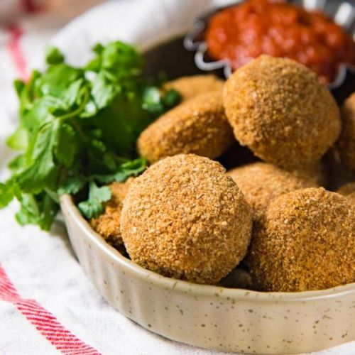 Baked Fish Croquettes