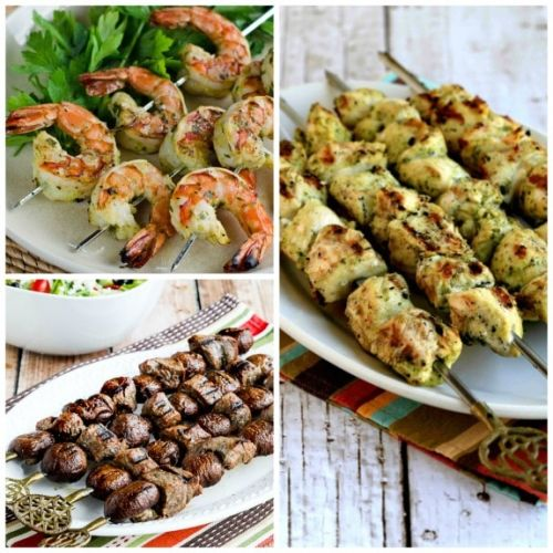 20 Low-Carb Kabobs or Skewers for the Grill