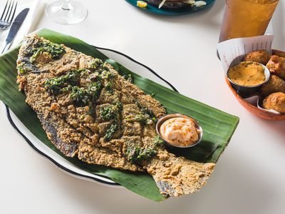 This New Restaurant Is a Modern Take on a Southern Seafood Tradition