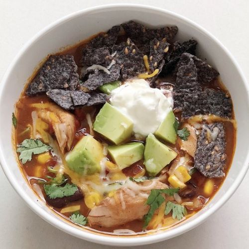 One Pot Chicken Taco Soup