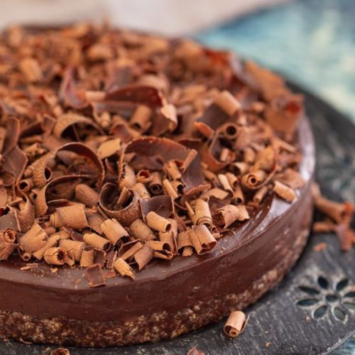No-Bake Espresso Chocolate Cake