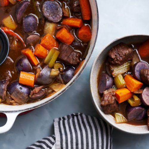 Red Wine & Honey Braised Beef Stew