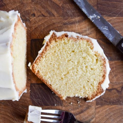Thrifty Old-Fashioned Pound Cake