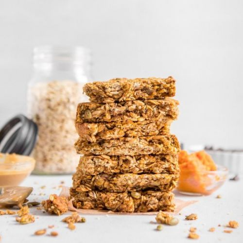 Pumpkin Hemp Bars