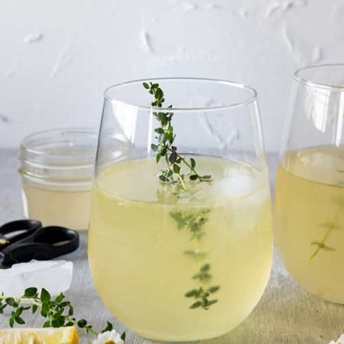 White Wine Spritzers