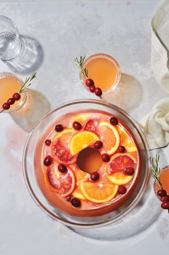 Cranberry-Tequila Punch