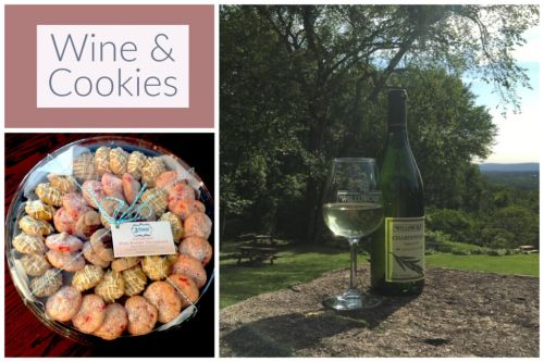 June 9: Wine & Cookie Pairing