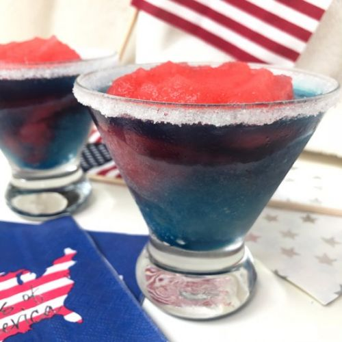 Skinny Red, White & Blue Coconut